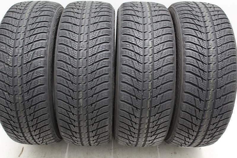 Kit di 4 gomme usate invernali 225 /60/17 Nokian