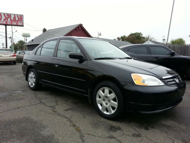 2001 honda civic 4 door low miles runs great used. Black Bedroom Furniture Sets. Home Design Ideas