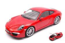Welly WE18047R PORSCHE 911 (991) CARRERA S RED 1:18
