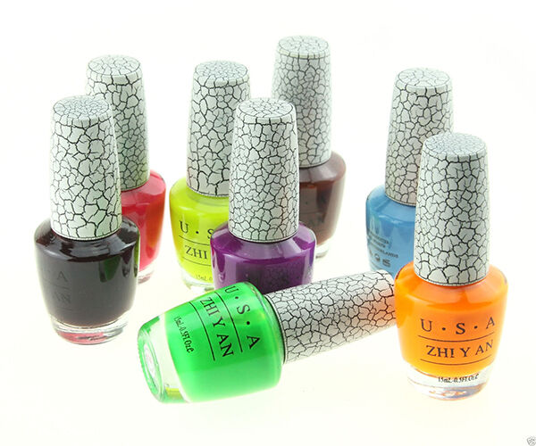 How to Use Crackle Nail Polish