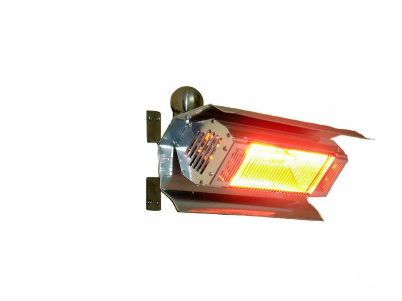 The Fire Sense 02110 Offers Electricity Generated Infrared Heat. Users Can  Easily Mount This Electric Patio Heater And Get It Running. It Is Safe To  Use, ...