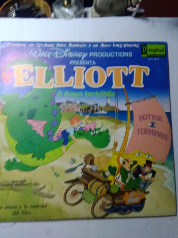 Walt Disney LIBRO + DISCO 33 Giri , DISNEYLAND 4