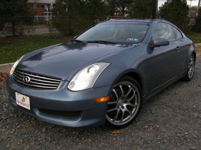 06 infiniti g35 coupe manual aero premium pack low miles warranty clean carfax used infiniti. Black Bedroom Furniture Sets. Home Design Ideas