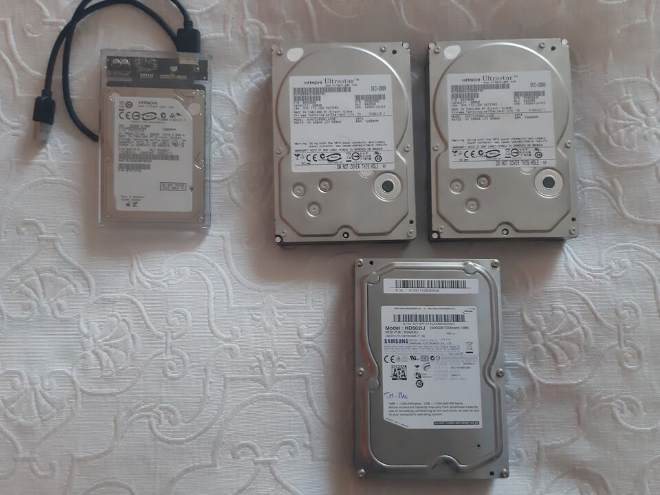 Hard Disk Hitachi-Samsung da 500 Gb 7200 rpm