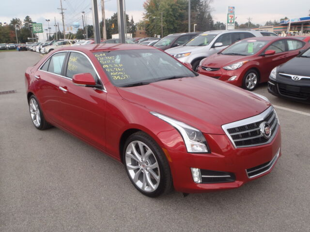 2013 cadillac ats 2 0 turbo financing availabe used cadillac ats for sale in butler. Black Bedroom Furniture Sets. Home Design Ideas
