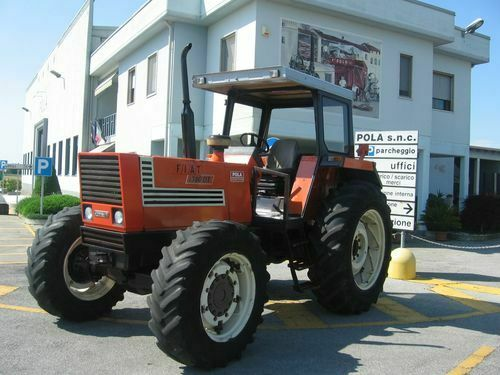 trattore agricolo fiat 1380dt