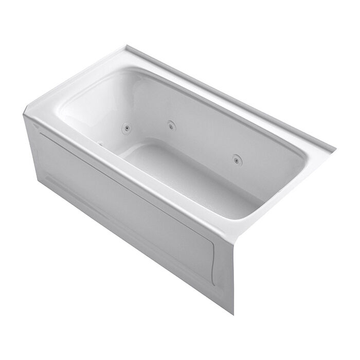 Made By The Well Known Bathroom Fixture Brand Kohler, The K 1151 RA 0 Is A  Traditionally Designed Whirlpool Bath That Measures 60 Inches By 32 Inches  To Fit ...