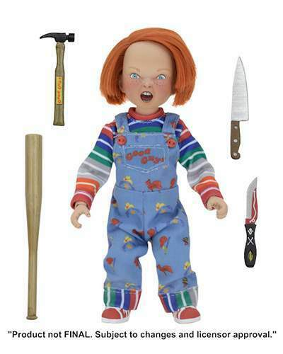 Neca Childs Play Chucky Clothed Af Action Figure