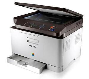 samsung clx 3305w all in one laser printer ebay. Black Bedroom Furniture Sets. Home Design Ideas