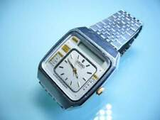 Seiko quartz tv analog/digit vintage raro 70'