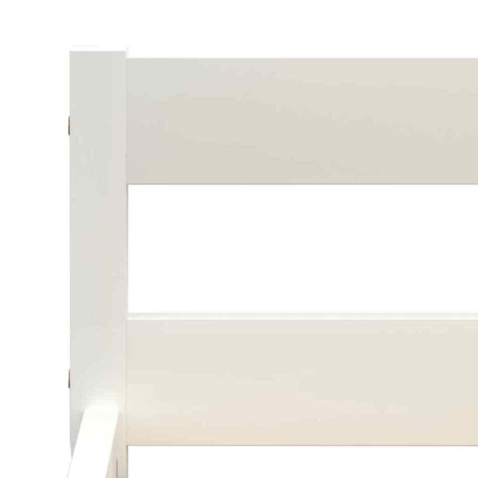 Giroletto Bianco in Legno Massello di Pino 100x200 cm 5