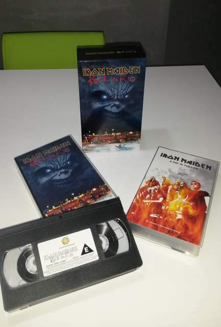 VHS Originale Iron Maiden - Rock in Rio
