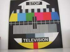 Stop television quadro poster vintage