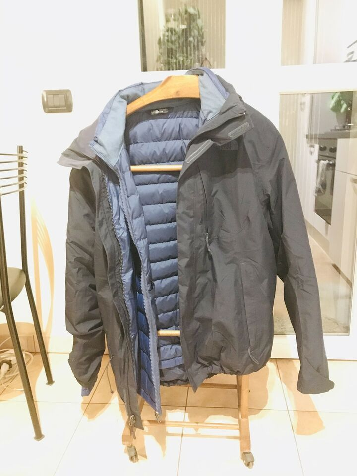 The North Face gore tex + piumino 550, 3 in 1