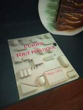 L'utopie du tout plastique libro volume originale design