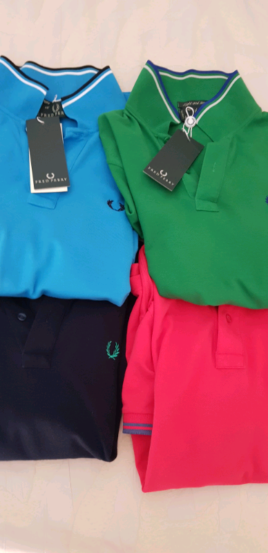 N 4 polo marca Fred Perry Tg M nuove 4