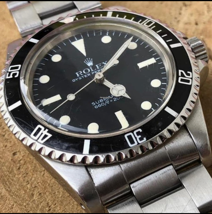 Rolex Submariner 5513 Mark V