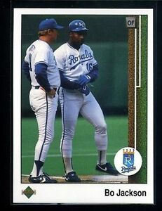1989 Upper Deck Bo Jackson 221 Baseball Card