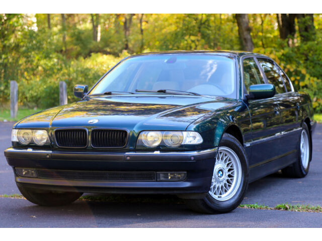 2000 bmw 740il 740 long navigation v8 parktronics heated steering cd carfax ebay. Black Bedroom Furniture Sets. Home Design Ideas