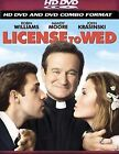 License To Wed (HD DVD, 2007, HD/DVD Combo)