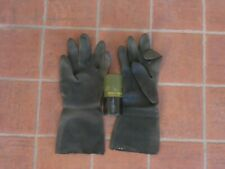 Royal army - nbc black rubber glove