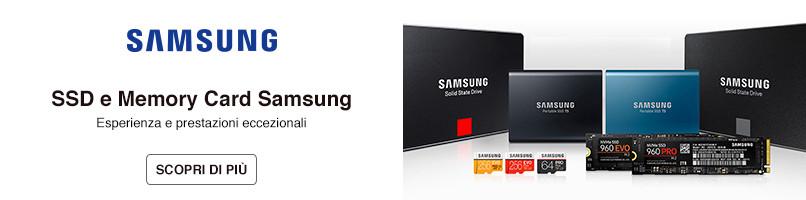 SSD e Memory Card Samsung