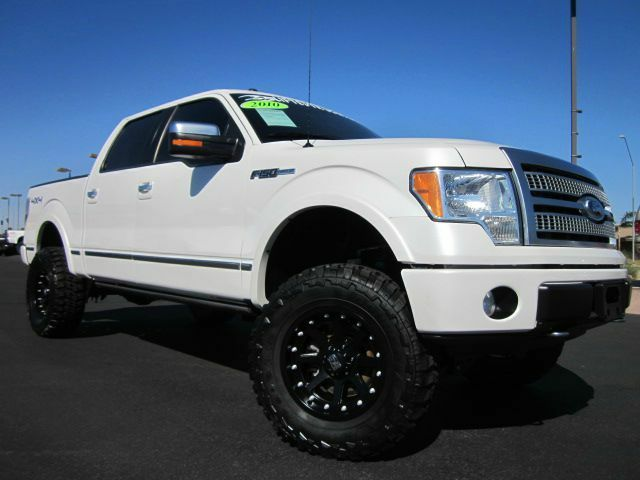 2010 ford f 150 platinum edition lariat super crew cab 4x4 new zone lifted truck used ford f. Black Bedroom Furniture Sets. Home Design Ideas
