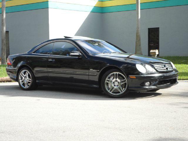 Cl55 amg v8 kompressor coupe black black sunroof loaded for Mercedes benz cl55 amg price
