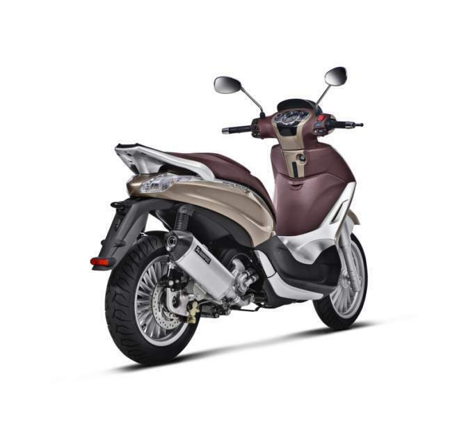 S-PI3SO6-HRSS akrapovic PIAGGIO MP 3 250 2008>2016 2