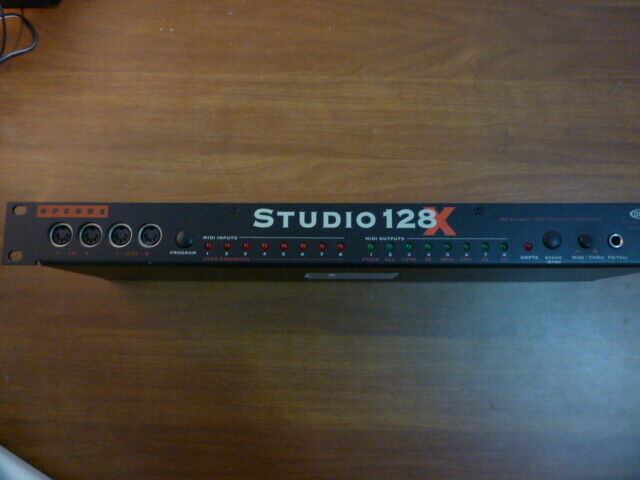 Interfaccia MIDI Patchbay Studio 128X Opcode