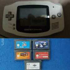 1 Console Nintendo Game Boy Advance con 5 giochi GBA