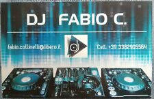 DJ FABIO C. genere House x serate party set eventi