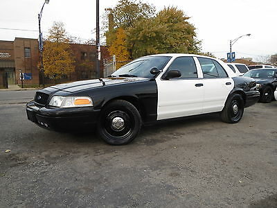 Ford Crown Victoria 2007 Police Interceptor
