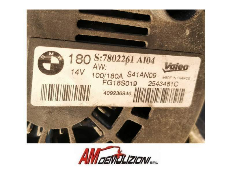 Alternatore 100-180Ah opel BMW Serie 3 320 3