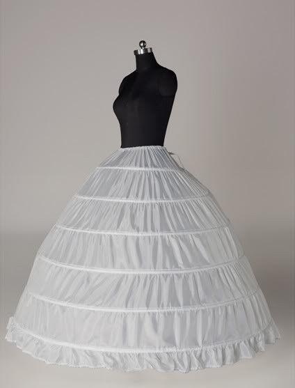 Six-hoop Petticoat