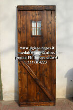 Porta stile fienile saloon barn doors country rustica