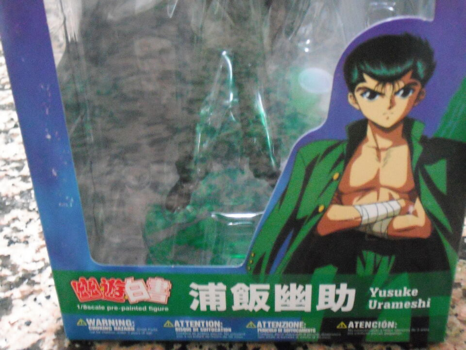Action figures yu yu hakusho nuovo + dvd anime movie nuovo 3
