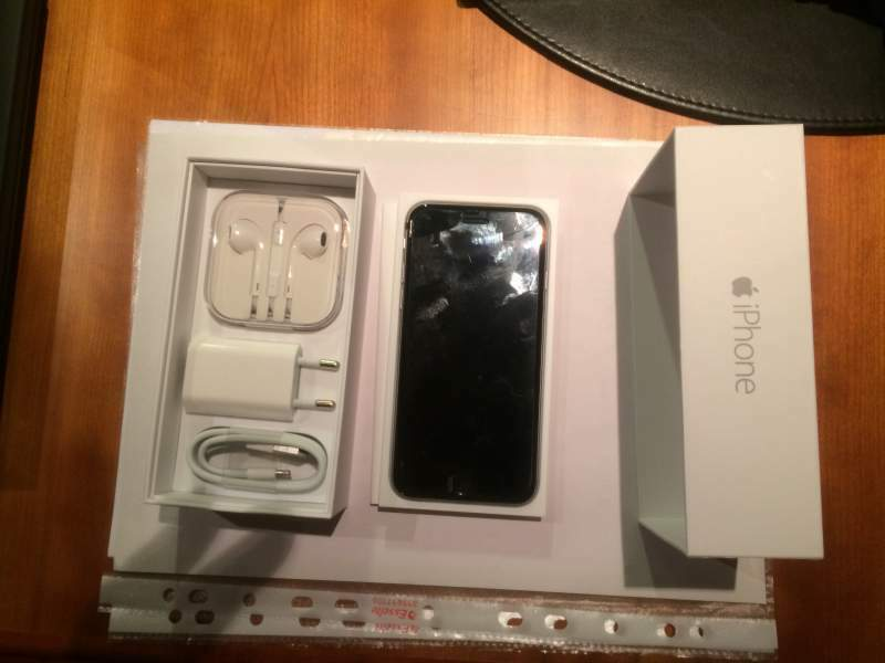 Iphone 6 space grey 128 gb nuovo