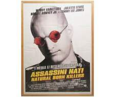 "Poster in cornice ""assassini nati""Quentin Tarantino"