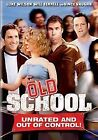 Old School (DVD, 2003, Full Frame; Unrated Version)