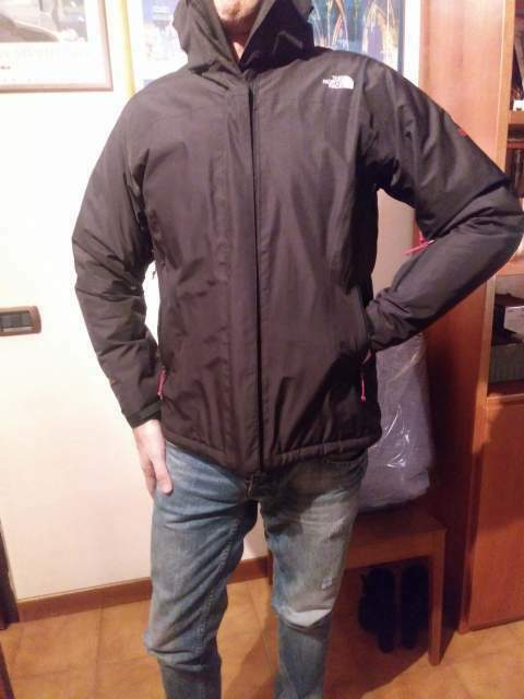 Giacca a vento The North Face nera originale
