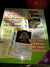 Bonsai schede pratiche - pelloni - raccolta schede