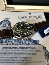 Eberhard Scafograf 200 No Data Limited Edition only 59 NOS