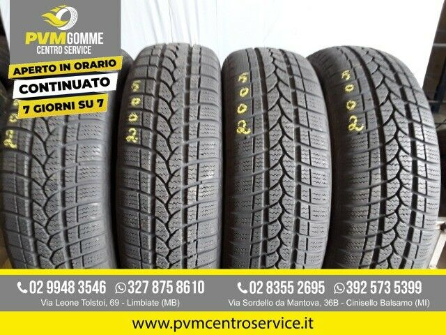 Gomme usate:185 65 15 88t riken inv