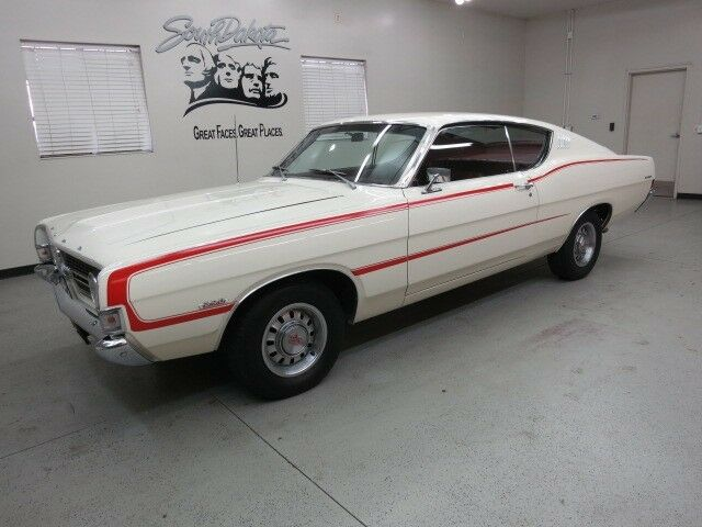 1968 ford torino quot gt quot 2 dr fastback w fresh390 c i c 6 trans w hurst shifter used ford