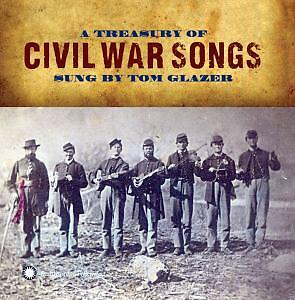 A Treasure of civil war songs sung by Tom Glazer, CD, Rock