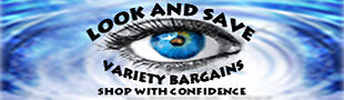 LOOK AND SAVE VARIETY BARGAINS