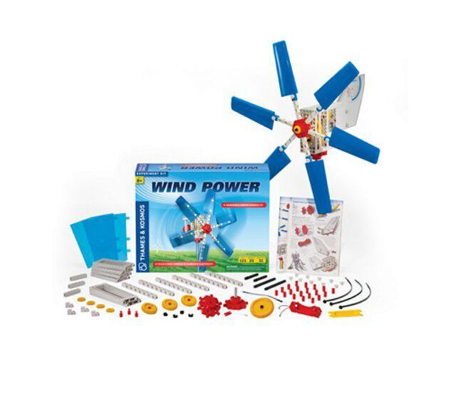 green science windmill generator instructions