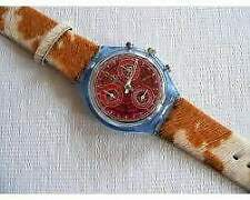 "Swatch chrono SCN 109""Fury""1995 Nuovo"
