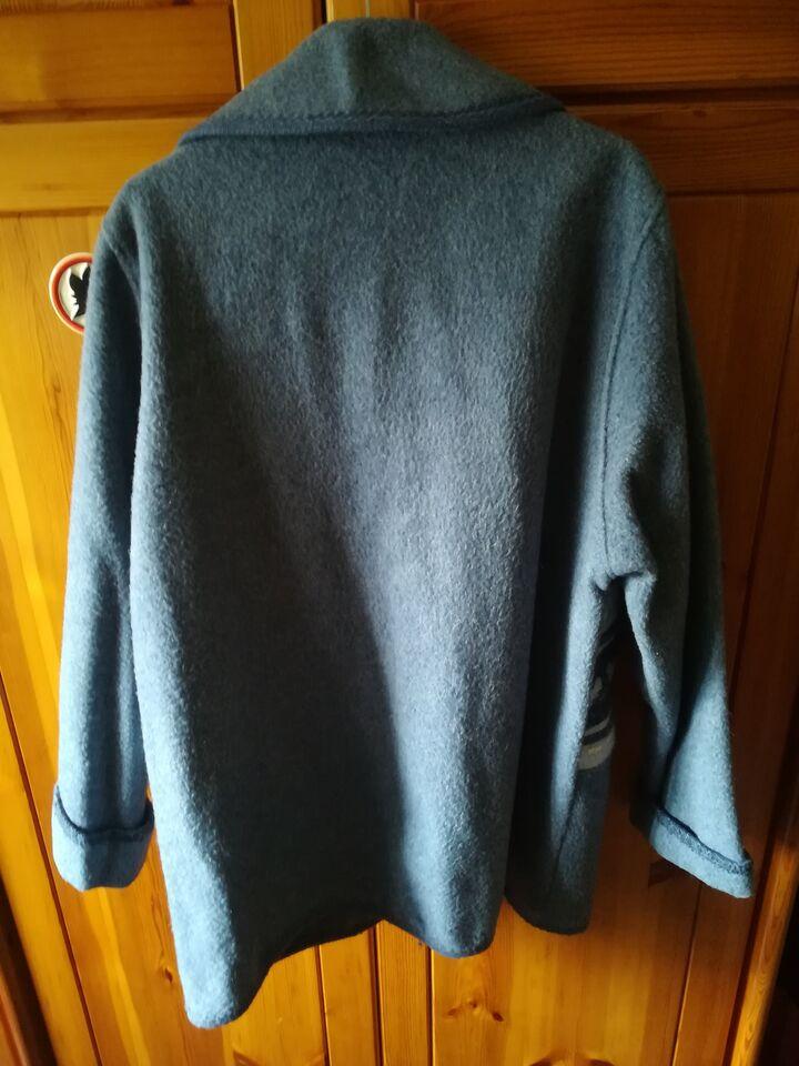Giacca in lana cotta 2